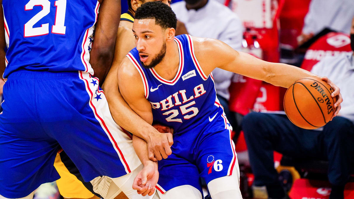 ben simmons sixers pacers