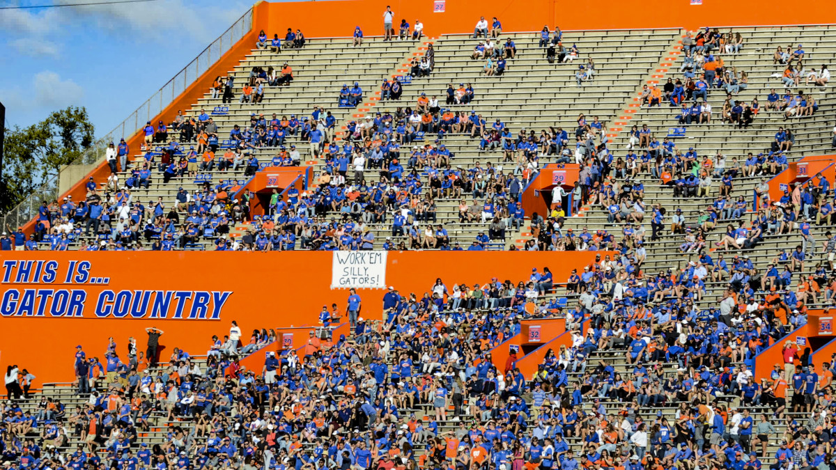 Why College Football Attendance Is Tanking...