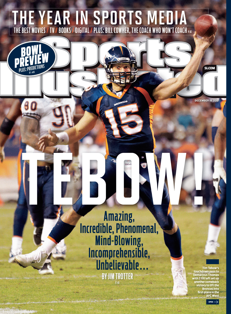 Kyle Orton Broncos The Book of Tebo...