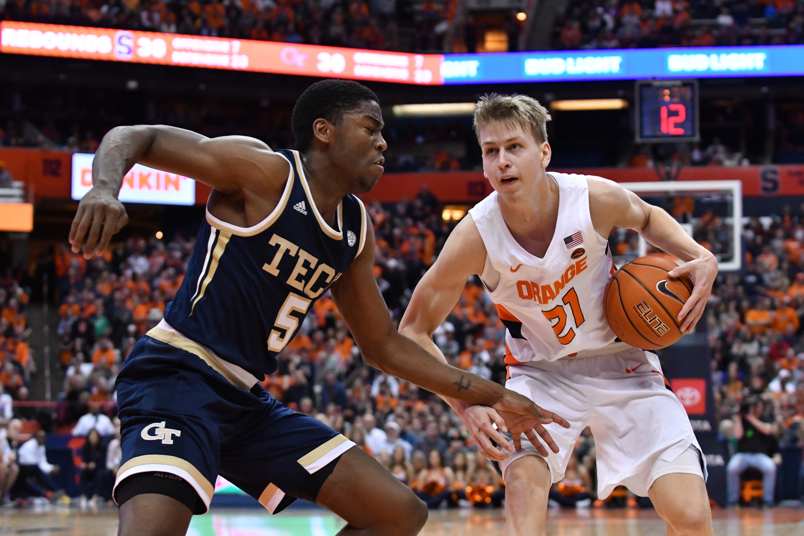 Victory Slips Away From Georgia Tech At Syracuse