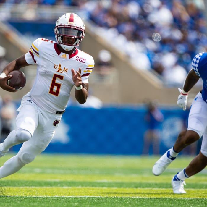 Louisiana Monroe Warhawks quarterback Hayes Crockett