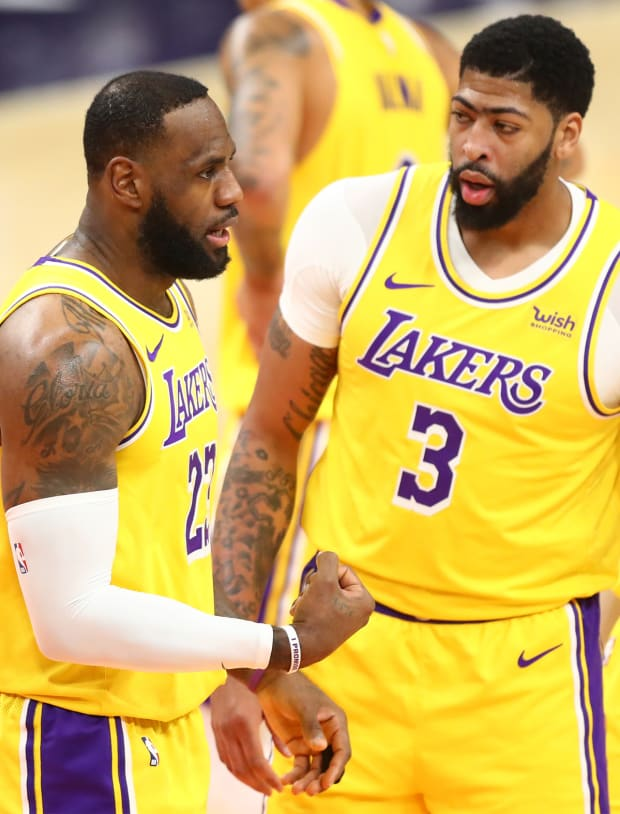 LeBron, Lakers trying to avoid ending up in the NBA play-in tournament.
