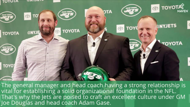 WATCH: Jets GM Joe Douglas Outlines Why Partnership With Adam Gase is Ideal
