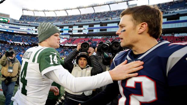 Sam Darnold Tom Brady 8:18