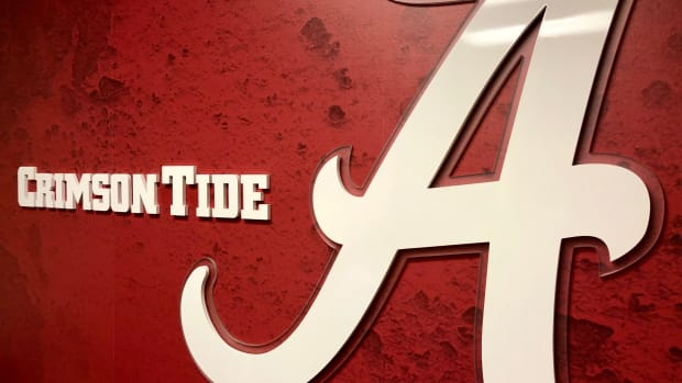 Alabama logo and script A