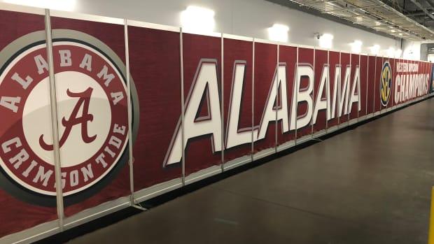 Alabama Crimson Tide logo from College Football Playoff