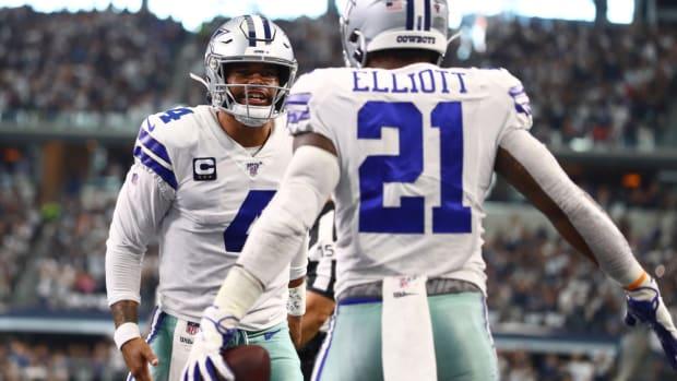Dak Prescott, Ezekiel Elliott | Matthew Emmons-USA TODAY Sports
