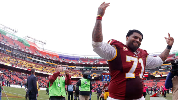 Trent Williams - © Geoff Burke-USA TODAY Sports