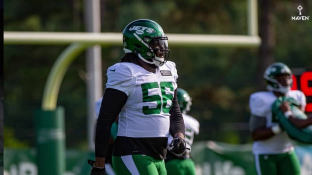 WATCH: Downward spiral continues for former Jets rookie Jachai Polite