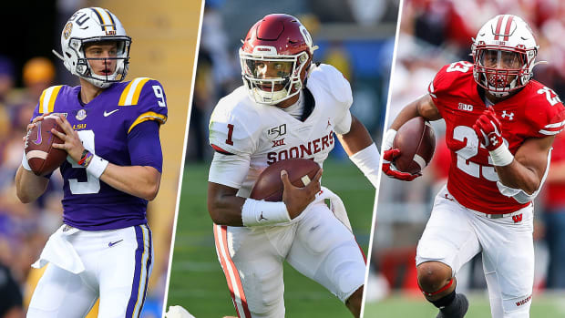 Joe Burrow LSU Jalen Hurts Oklahoma Heisman