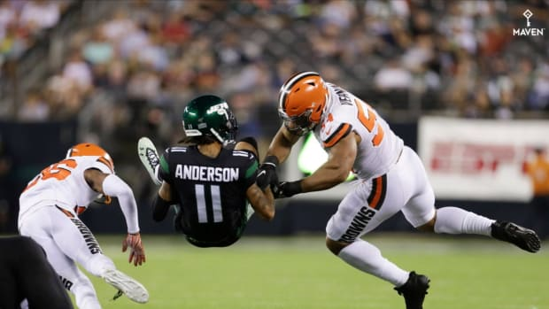 Jets WR Coach Shawn Jefferson Juxtaposes Robby Anderson's Plight to Michael Jordan