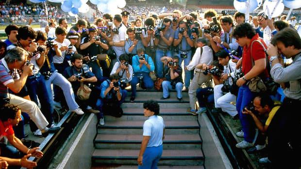 Diego Maradona's Napoli introduction