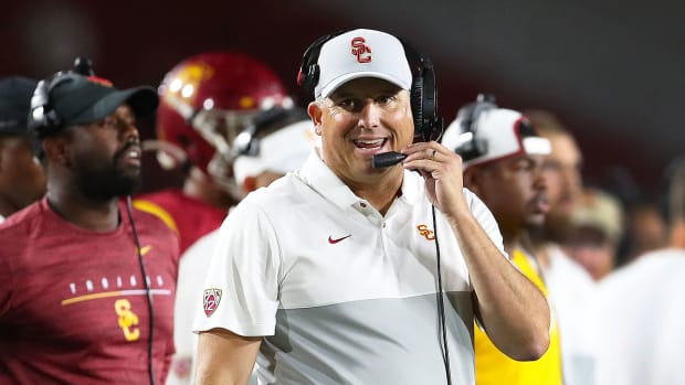 Can continued success this season take USC head coach Clay Helton off the hot seat?