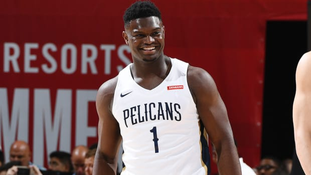 Zion Williamson is suing his former agent.