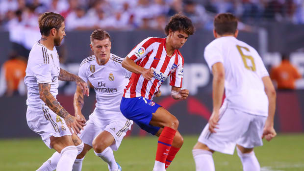 Atletico Madrid's Joao Felix vs. Real Madrid