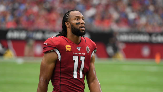Larry Fitzgerald passed Tony Gonzalez on the all-time reception list