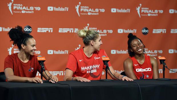 Atkins, EDD and Toliver talk Game 1 Finals