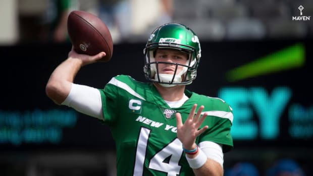 Jets QB Sam Darnold Remains a 'question Mark' for Week 5 at Eagles