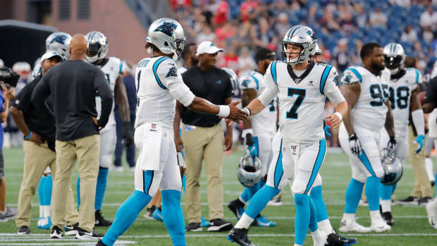 Kyle Allen expected to start at QB for Panthers