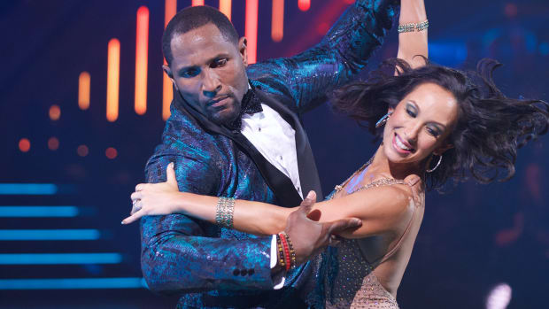 ray lewis, dancing with the stars, cheryl burke