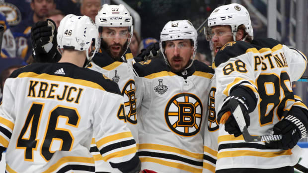 boston bruins preseason question