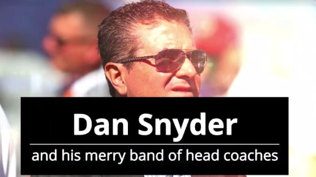 Dan Snyder coaches