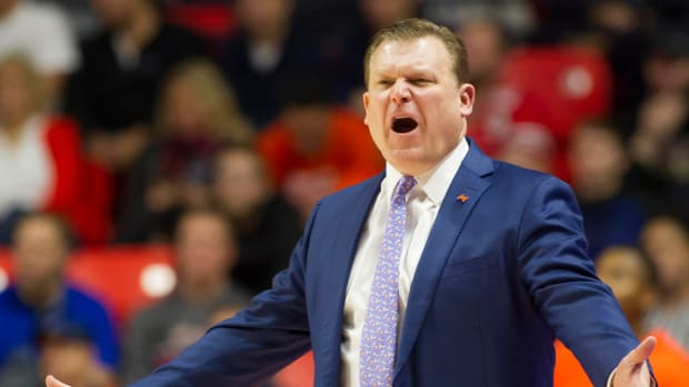 Illinois head coach Brad Underwood addressed his program's NCAA Tournament expectations Wednesday during Big Ten Medi Day in Chicago.