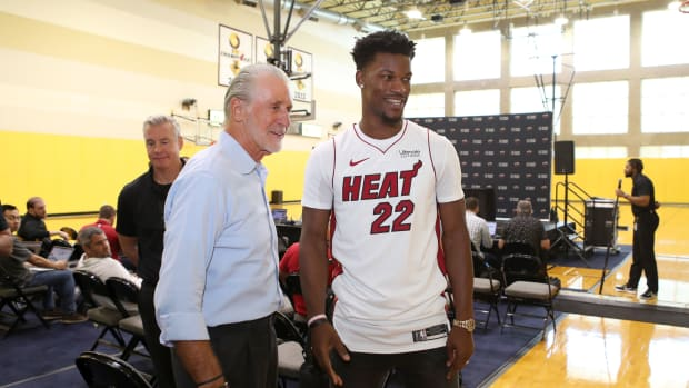 Jimmy Butler came to Heat practice at 3:30 a.m.