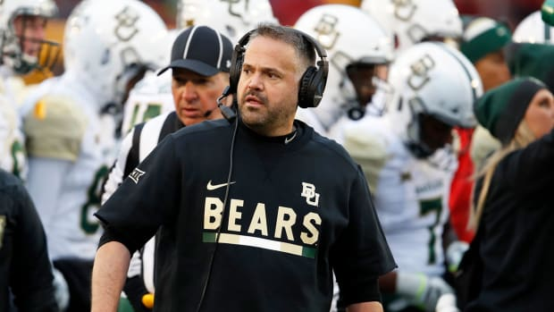 Matt Rhule's Baylor turnaround is beginning to show progress