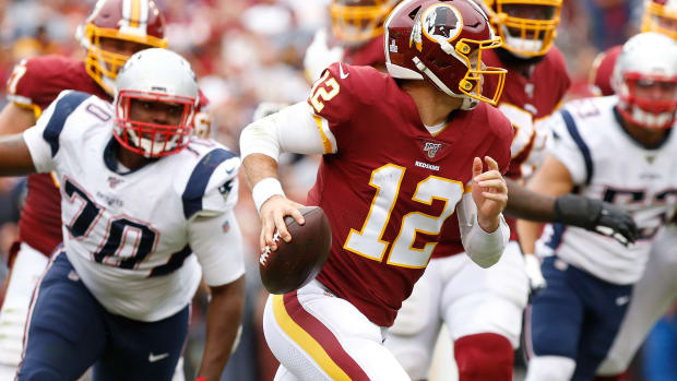 Colt McCoy | Geoff Burke-USA TODAY Sports