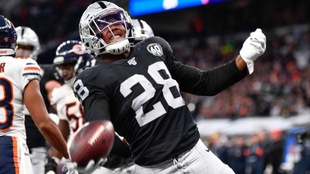 Josh Jacobs, Raiders touchdown