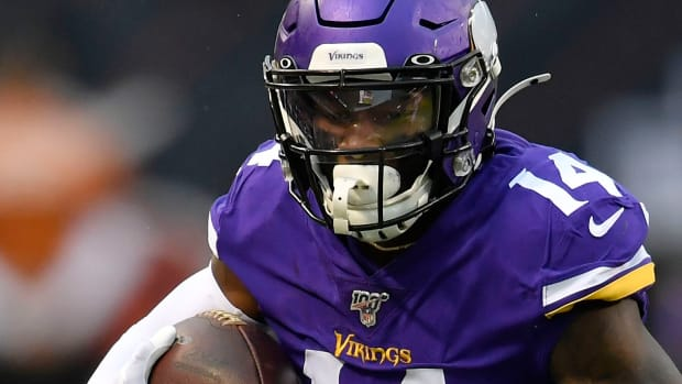 Stefon Diggs fined for missing practices