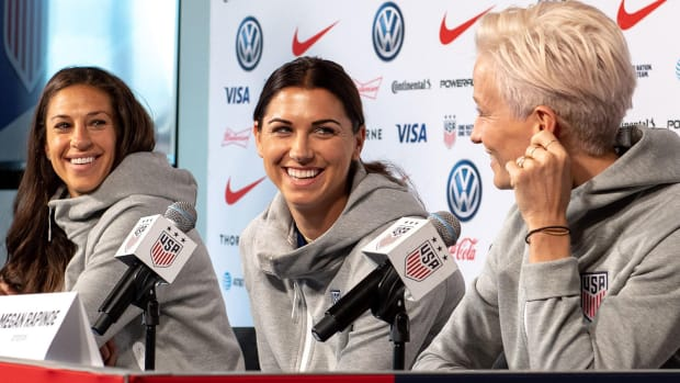 USWNT's Carli Lloyd, Alex Morgan and Megan Rapinoe