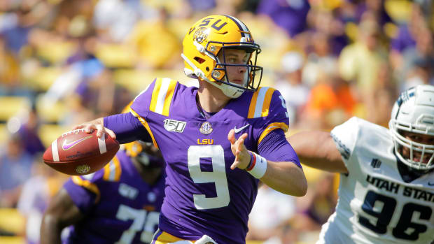LSU vs Florida Week 7 Joe Burrow football