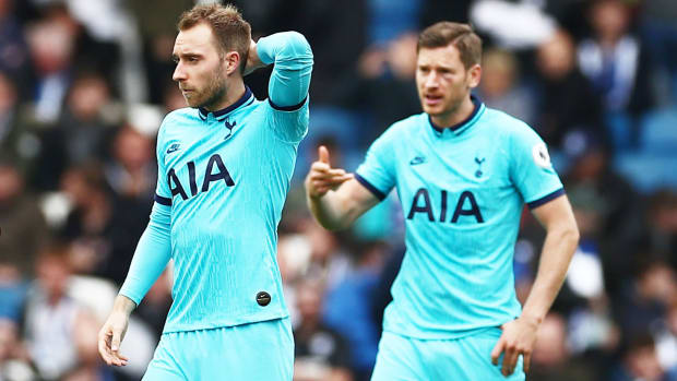 Christian Eriksen and Tottenham have struggled