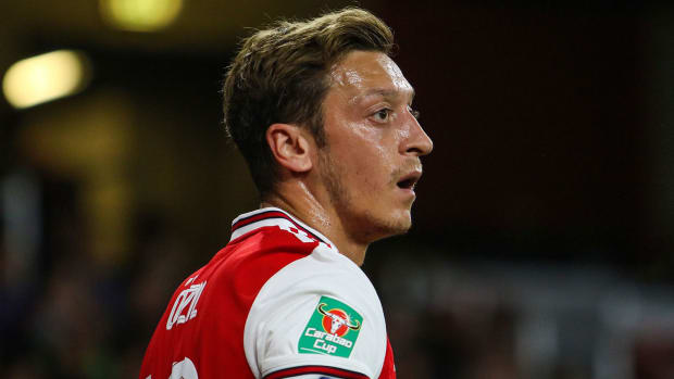Mesut Ozil could be leaving Arsenal