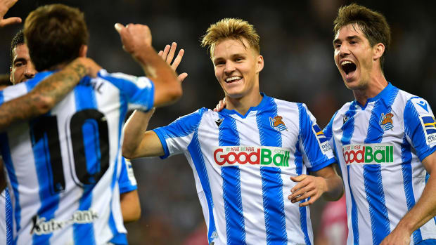 Martin Odegaard is starring at Real Sociedad