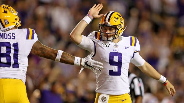 Joe-Burrow-Celebrates-TD-LSU