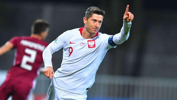 Robert Lewandowski and Poland are headed to Euro 2020