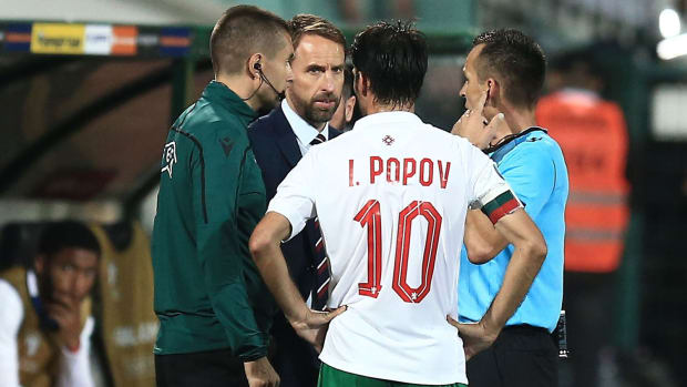 England vs Bulgaria is stopped due to racism