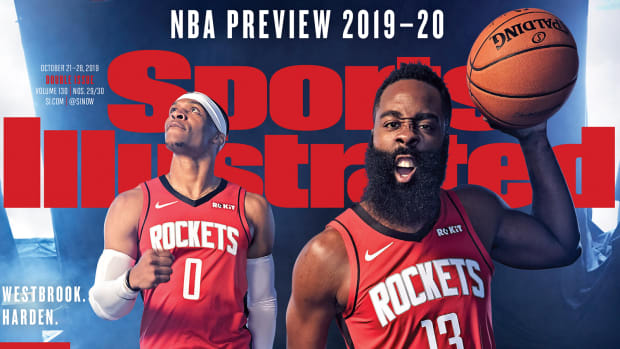 Houston Rockets Sports Illustrated Cover