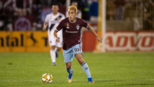 Andre Shinyashiki wins MLS Rookie of the Year