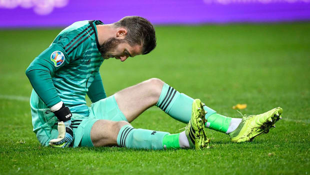 David De Gea is injured with Spain
