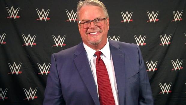 Portrait of WWE's Bruce Prichard backstage
