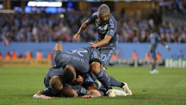NYCFC topped MLS's Eastern Conference