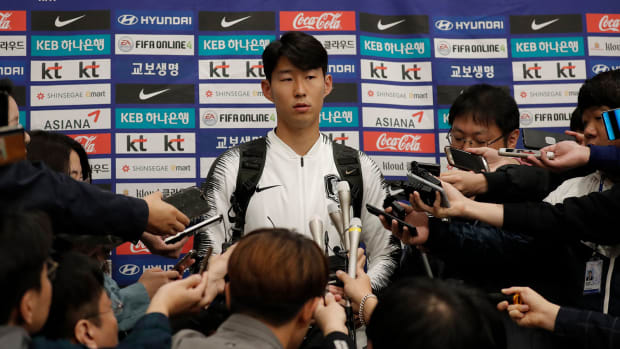 South Korea star Son Heung-min