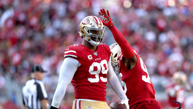 DeForest Buckner | Cary Edmondson-USA TODAY Sports