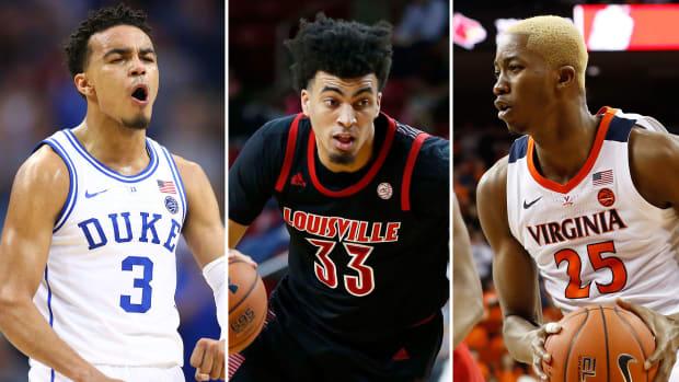 ACC basketball 2019-20 Duke Louisville Virginia UNC