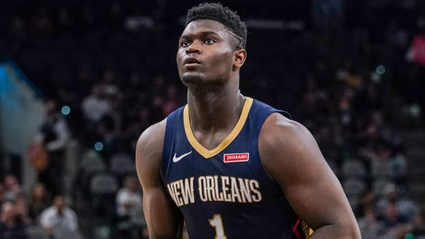 Zion Williamson out vs. Knicks with knee soreness