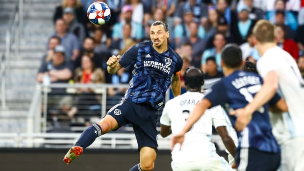 Zlatan Ibrahimovic will play in his first MLS playoff game